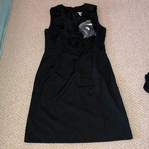 Merona ruffle neck dress